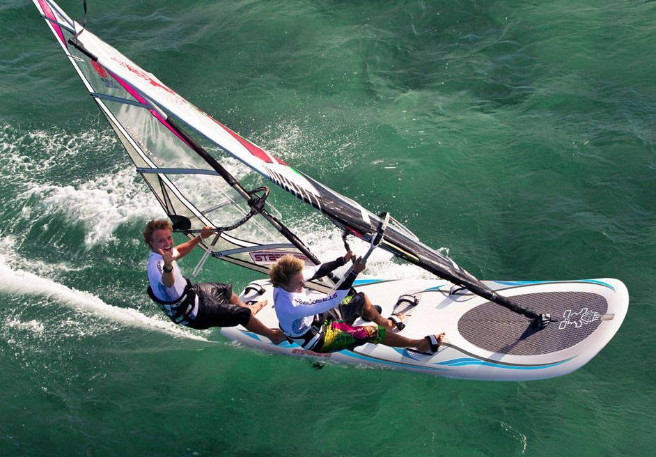 Windsurfing in Lagos