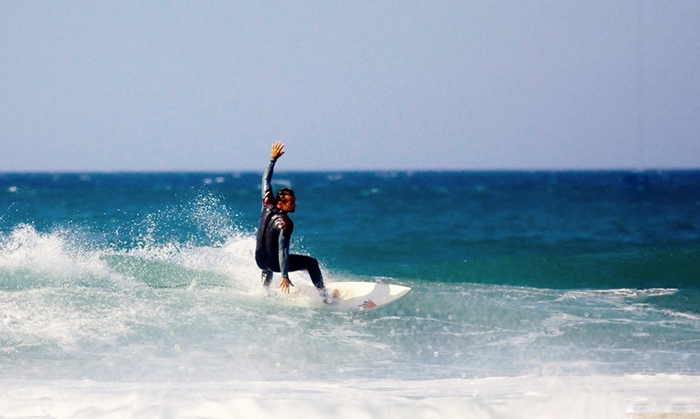 Intermediate and Advanced levels surf coaching in Algarve