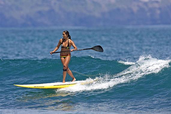 paddleboard surf