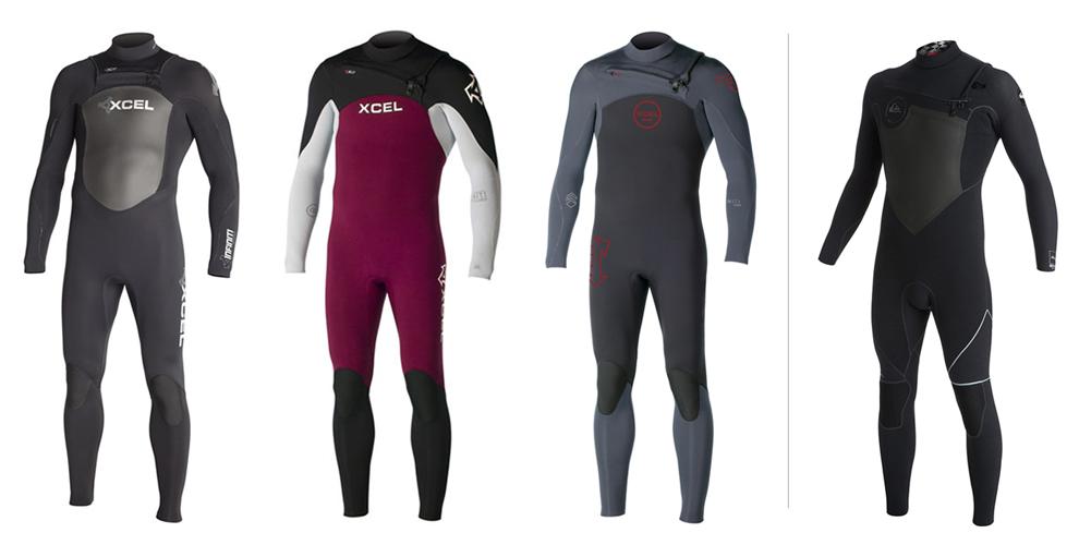 5. XCEL Infinity 3/2 wetsuit 6. XCEL Infinity Comp 4/3 wetsuit 7. XCEL Infinity Comp grey 4/3 wetsuit 8. Quiksilver AG 47 4/3 wetsuit